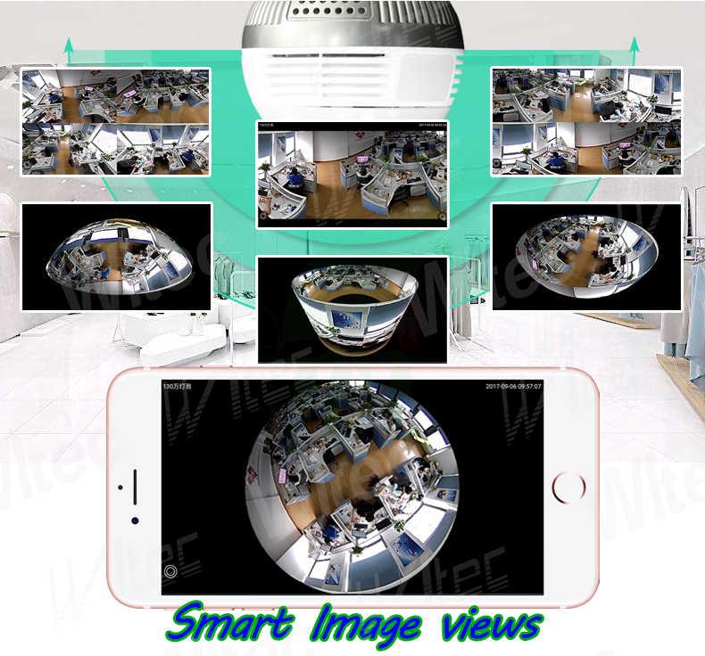 YOOSEE Wifi Đèn Và Panronama Camera 960P Camera IP ONVIF Không Dây Cam An Ninh Mạng Moniton Báo Động Lưu Trữ Thẻ SD đàm Thoại Trực Tiếp