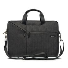 WiWU Laptop Bag Case 12 13 15.4 15.6 17.3 Messenger Bags for MacBook Air Waterproof Notebook Pro 15