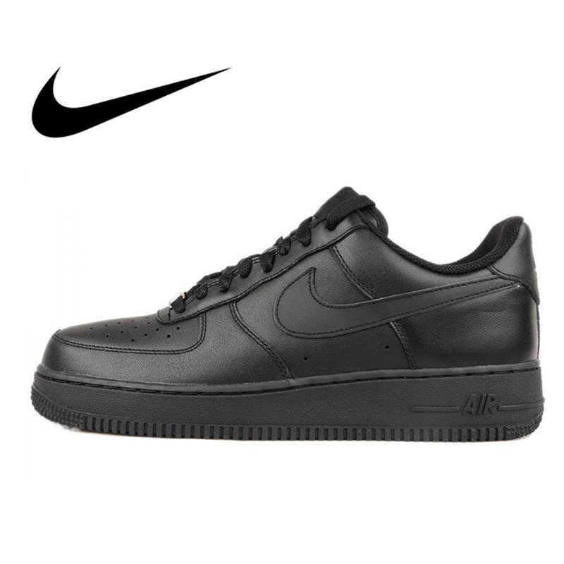 lowest price 23127 0e4bc Nike AIR FORCE 1 AF1 Men Breathable Skateboarding Shoes Sport Outdoor  Sneakers Athletic Designer Footwear 2018