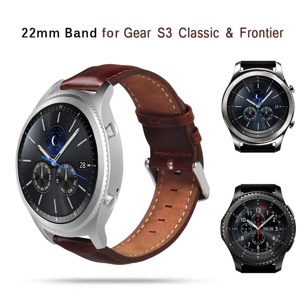 TOROTOP 17 NEW Wristband FOR SAMSUNG GEAR S3 CLASSIC WATCH BAND Smart Accessory Leather Strap Gear S3 Classic frontier BANDS 7