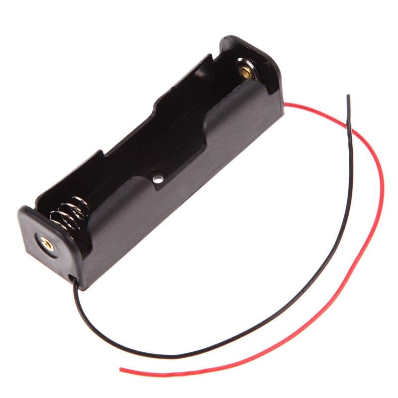 New Brand  Power Bank 18650 Battery Holder Plastic Battery Holder Stor