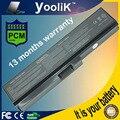 Batería del ordenador portátil para toshiba satellite pro c650 c660d l630 l670 U500 L640 T110 T115 T135 U405D U400 U405 A660D PA3634U-1BAS PA3634