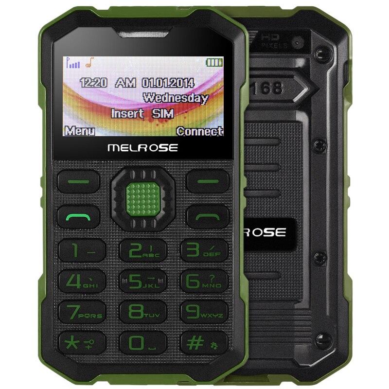 Цена за Оригинальный Melrose S2 Мини Телефон С MP3 Камеры Bluetooth Ультра тонкий 1.7 Дюймов Открытый Противоударный Пылезащитный Телефон