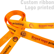 Free shipping 2 yard customized ribbon cartoon printed Satin single side printing for decoration