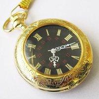 2010 Nice Gold Tone Case Rare 18 Century Style Pocket Watch