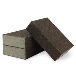 5 шт./лот, 100*70*25 мм, нано-наждак высокой плотности, волшебная меламиновая губка для бытовой чистки, кухонная губка для удаления ржавчины