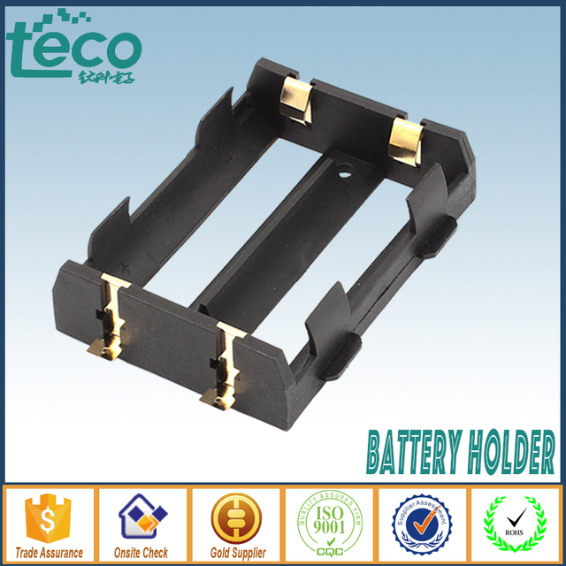 4Pcs/lot 26650 Battery Holder SMT SMD High Quality With Bronze Pins TBH-26650-2A-SMT
