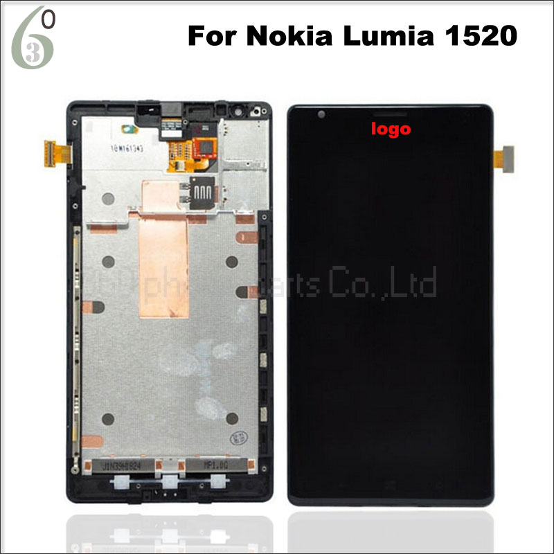 100% Tested For Nokia Lumia 1520 lcd display with touch screen digitizer assembly + Frame Replacement parts cnc brake clutch levers adjustable brake levers for ducati 821 monster 2014 2015 hypermotard 821 strada 2013 2015 scrambler 2015