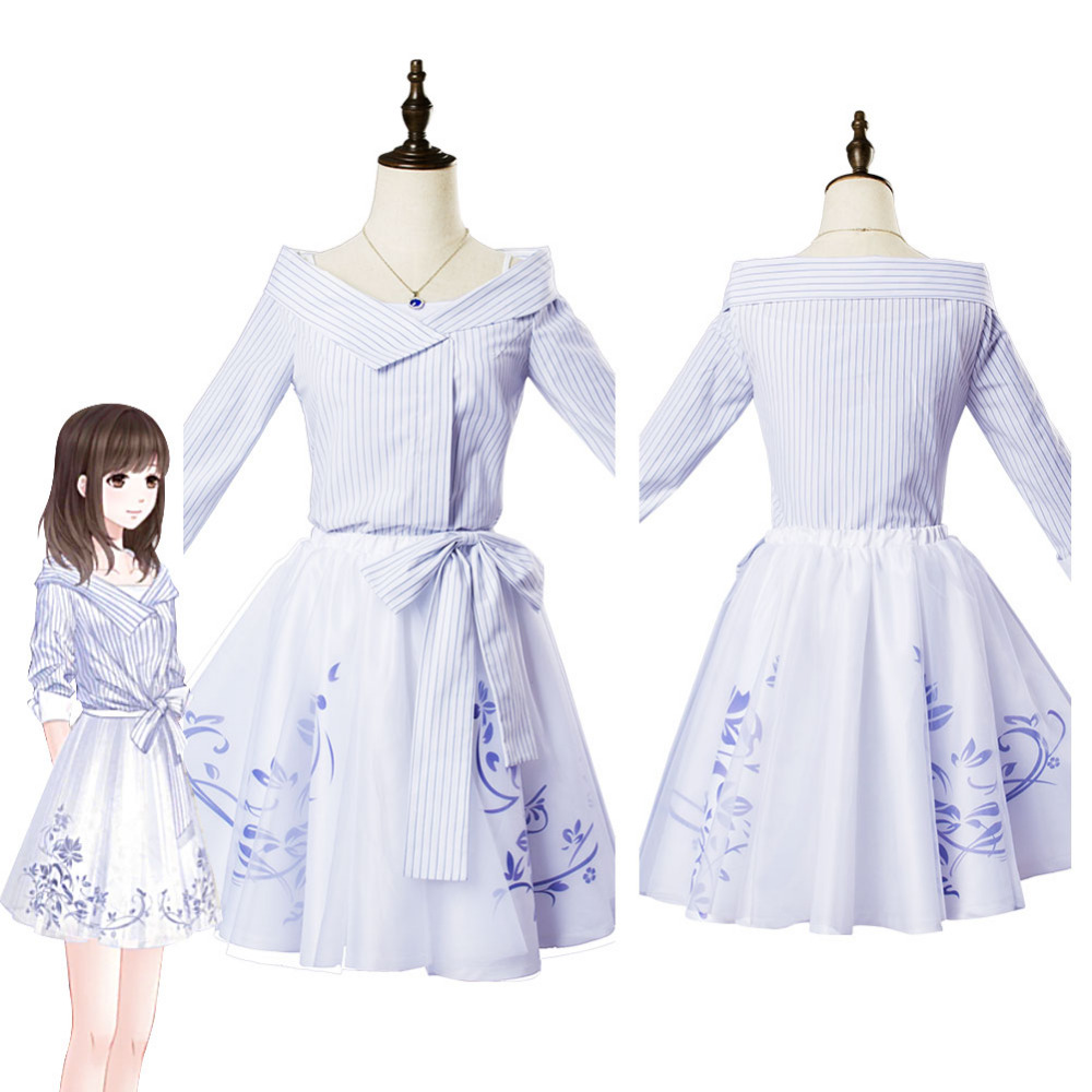 Game Love And Producer Heroine You Ran Cosplay Costume