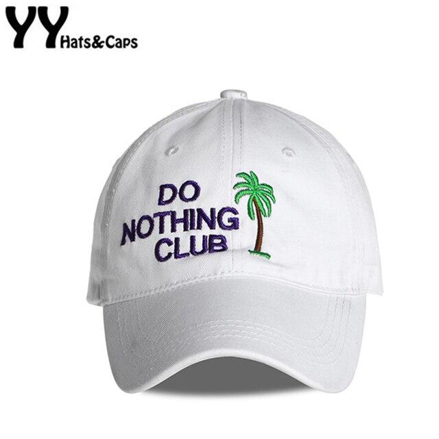 bf62c1b3e5d8b0 Hip Hop Dad Hats Men Do Nothing Club Snapback Hats Coconut Tree Baseball Cap  Women Letter Snap Back Casual Sleep Forever YY17261