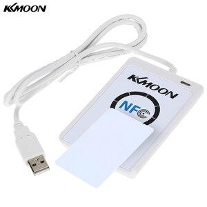 Image 2 - Nfc acr122u rfid非接触型スマートリーダー&ライター/usb sdk 5ピースのmifare icメモリカード/タグ