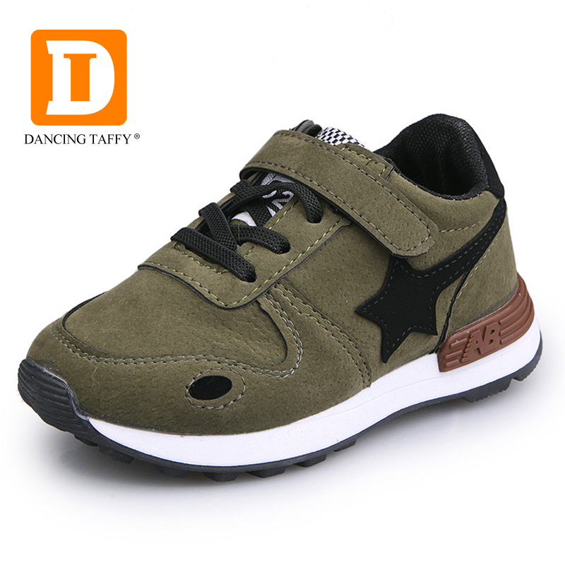 2017 New Children Shoes Breathable Running Shoes For Kids Flats Sports Footwear Fashion Casual Star Shoe Big Boys Girls Sneakers