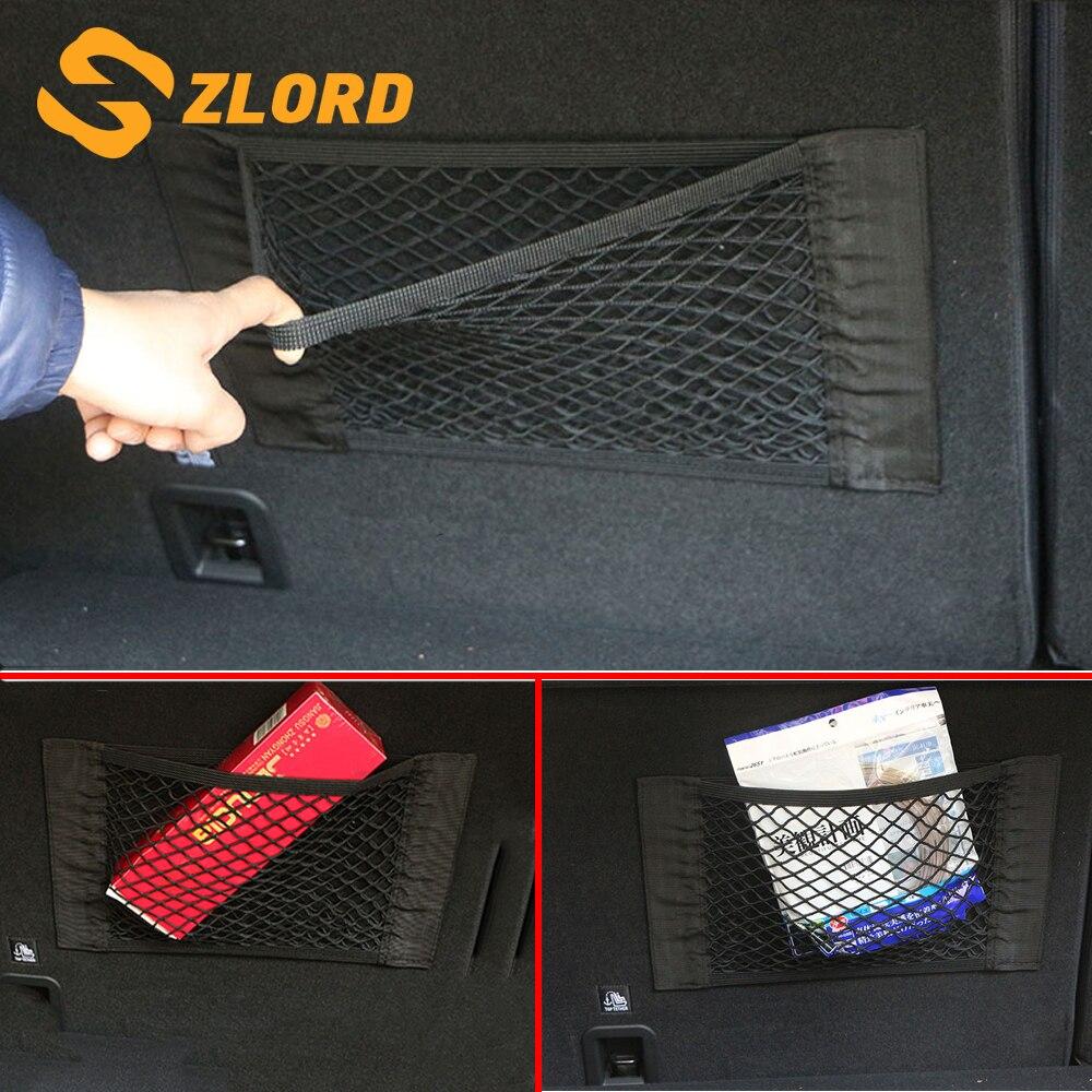 GroßZüGig Zlord Auto Stamm Nylon Seil Net Gepäck Net Für Honda Crv Cr-v Vezel Hrv Hr-v Fit Jade Stadt Civic Accord Odyssey Zubehör