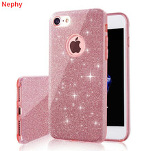 Nephy Cell Phone Case for iPhone 6 iPhone 6S iPhone 7 8 Plus X 10 5S 5 s SE 5SE 6Plus 6SPlus 7Plus 8Plus Luxury Silicone Cover(China)