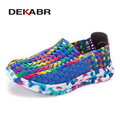 DEKABR Summer Fashion Woman Shoes New Casual Canvas Shoes Woman Flats Soft Comfortable Espadrilles Braid Women Shoes Zapatillas