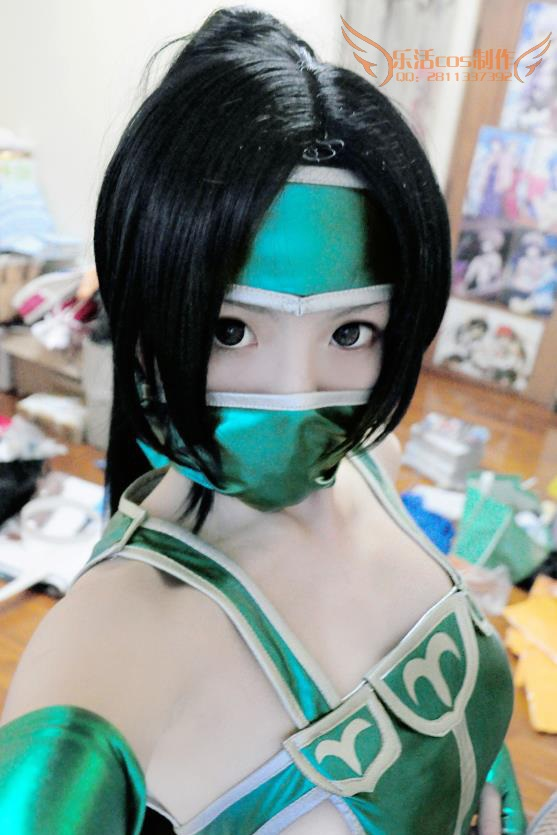 League Of Lol Akali Classic Sexy Cosplay Akali Costume Custom Size Hademade Cosplay Clothing With Weapon Wig 3