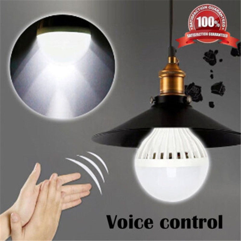 Lighting Accessories E27 Socket Universal Sound Controlled Lamp Base Wireless Led Light Adapter 85-265v