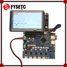"""المستنسخة دويتو 2 Wifi V1.04 DuetWifi المتقدمة 32 بت الالكترونيات مع 4.3 """"5"""" 7 """"PanelDue اللمس جهاز تحكم بالشاشة ل BLV MGN مكعب"""