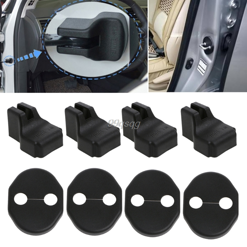 Car Door Lock Cover Stopper Protection For Mitsubishi