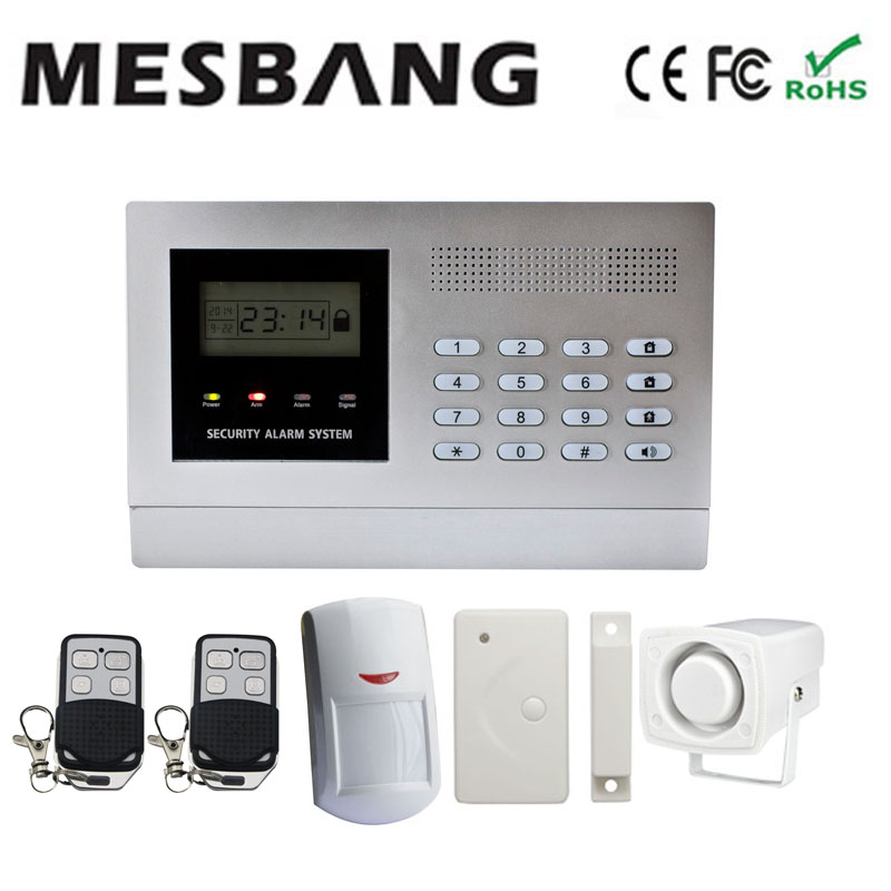 GSM home anti-theft alarm system  wireless security  alarm system free shipping em library security equipment book theft alarm system with free solution design