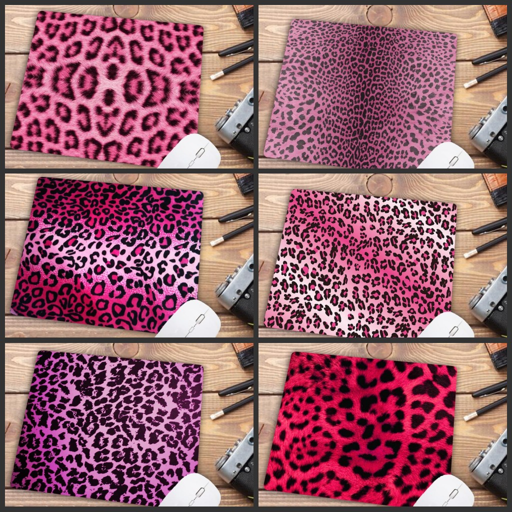 Mairuige Big Promotion Colorful Leopard  Gaming Mouse Pad Computer Mats Size For 180*220*2mm Mousepad Rubber Rectangle Mousemats
