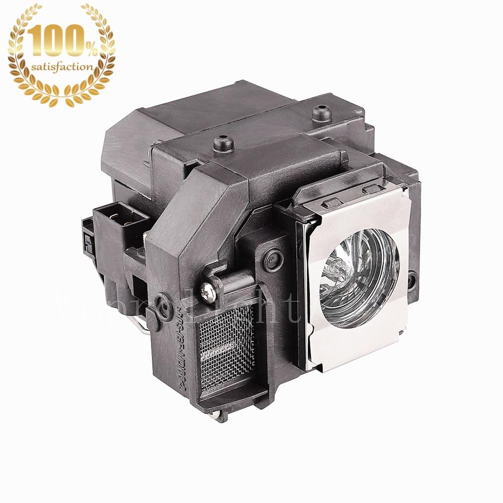 WoProlight Kompatibel lampe med kabinet ELPLP54 / V13H010L54 Til - Hjem lyd og video - Foto 1