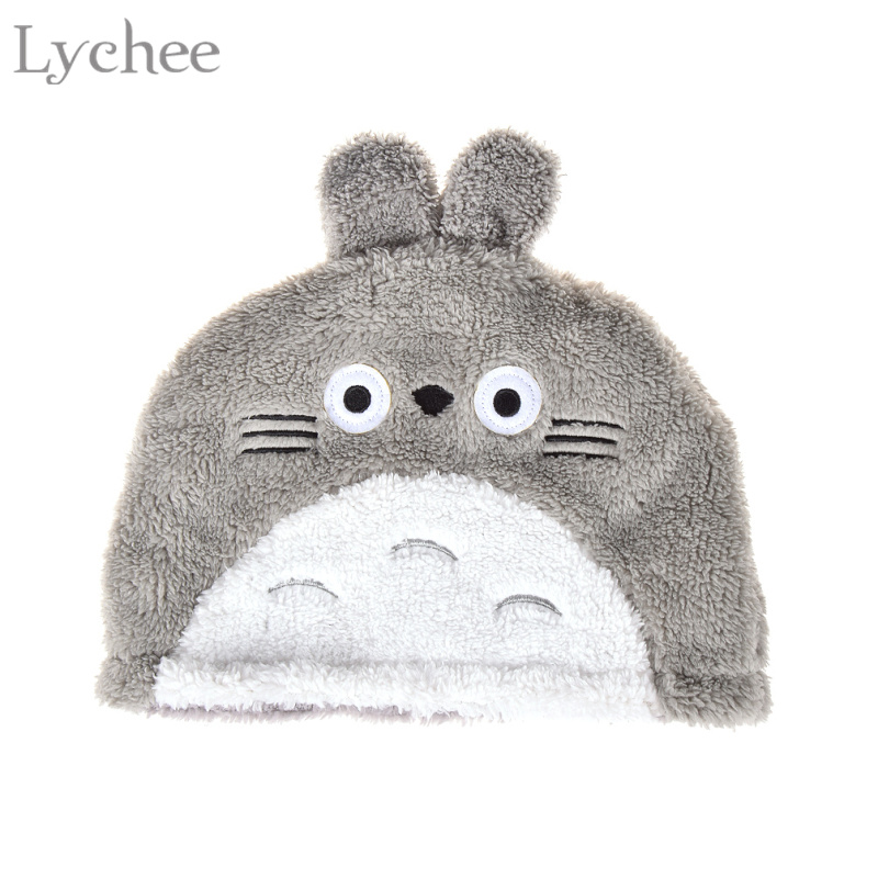 Lychee Harajuku Japanese Style Women Men Anime Cosplay My Neighbor Totoro Plush Hat  Toy Doll Gift