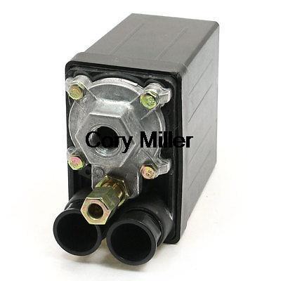 16A AC230V 175PSI 12Bar One Port Air Compressor Pressure Switch Control Valve air compressor pressure switch control valve 175psi 1 port 240v 20a no