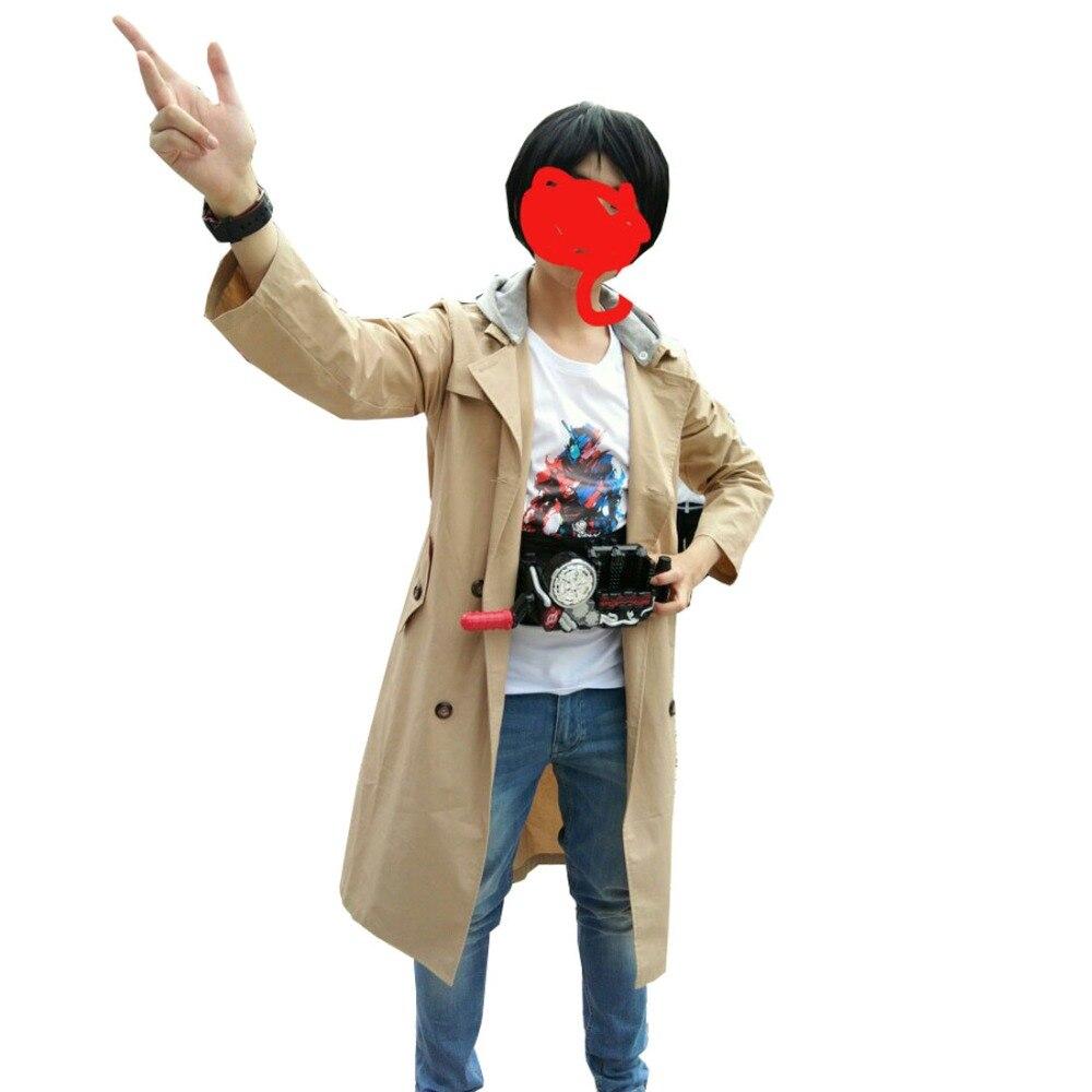 2018 Kamen Rider Build Kiryu Sento Cosplay Custom Made Hoodie Wind Coat