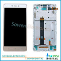 5.5 polegada para xiaomi hongmi red rice redmi note 3 display LCD com Touch Screen digitador com frame assembléia completa conjuntos