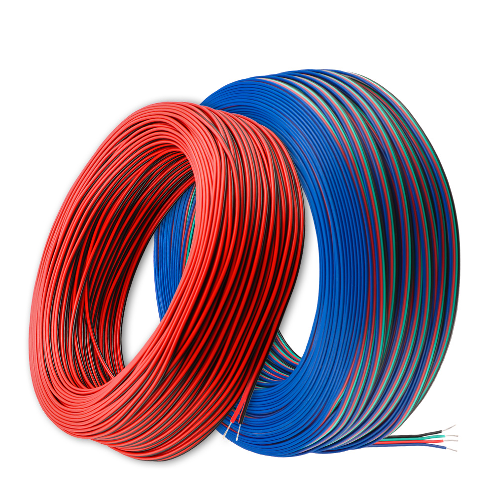 1m/5m/10m 2PIN <font><b>3PIN</b></font> <font><b>4PIN</b></font> 5PIN LED Connector Extension Wire <font><b>Cable</b></font> For Single color RGBW <font><b>RGB</b></font> LED Strip image