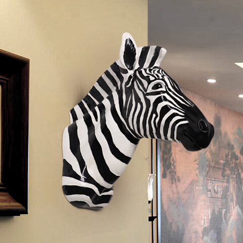 popular animal head wall decoration buy cheap animal head