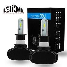 LSlight LED Headlight h4 h7 880 9004 9005 9006 9007 h3 h11 h8 h13 hb2 hb3 hb4 h27 Car Light 6000k 12v 24v 16000lm 80w Bulb