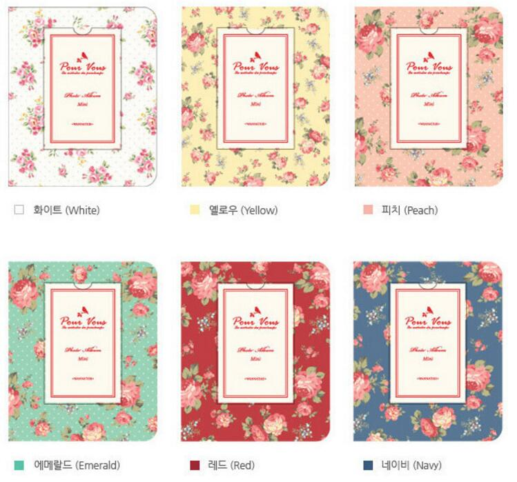 Vintage Floral Blooming Mini Polaroid Album mini 25 / 7s 8 ретро - Үйдің декоры - фото 4