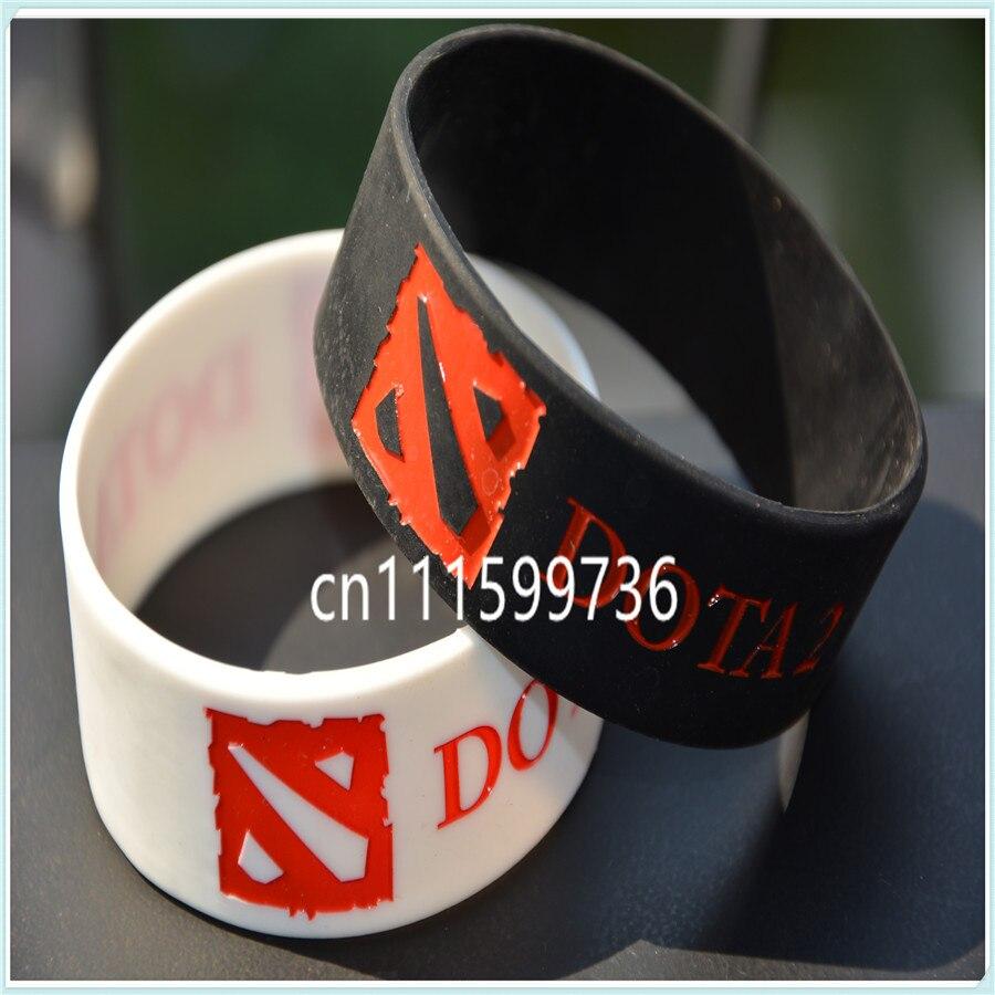 9d6573475e36 Pulsera de silicona para los Fans del juego de promoción pulsera de silicona  en Brazaletes de Joyería y accesorios en AliExpress.com