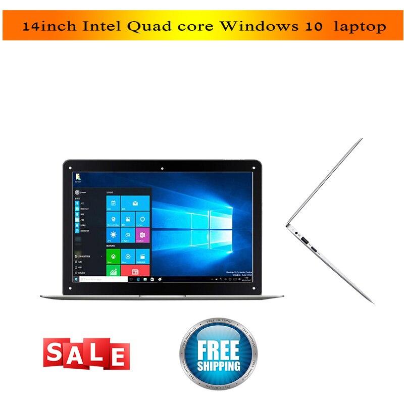 14 Zoll Günstige Laptop Atom X5 Z8350 Quad Core Prozessor 2 Gb/4g 32 Gb/64g Emmc Bluetooth Kamera Hdmi Wifi Windows 10 Netbook Die Neueste Mode