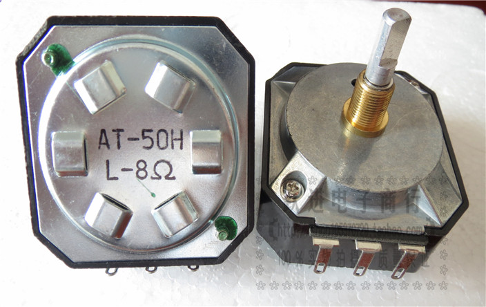 Imported Taiwan 8R Acoustic Potentiometer AT-50HL-8 R AT-50HL-8R AT-50HL Treble Attenuator Handle Length 25MM switch tempo 8r