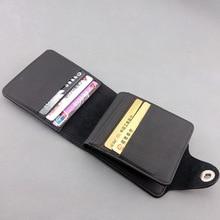 Naruto Black PU Leather Wallet