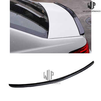 W212 Carbon Fiber Rear Spoiler Wings Car Styling For Mercedes-Benz E Class E200 E260 E350 Car Body Kit 2014-UP