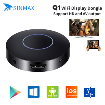 1080 p Full HD OTA TV Stick Dongle mejor que EasyCast HDMI AV WiFi receptor pantalla DLNA Airplay Q1 reflejo dongle