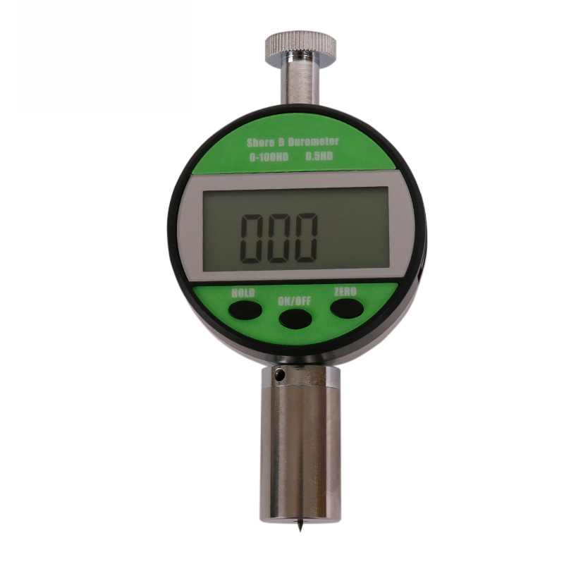 ELECALL LX-A-Y Digital Hardness meter Tester 0-100HA LCD Meter For Rubber Plastic Leather Multi-grease Wax цена