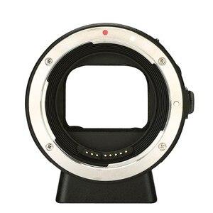 Image 2 - YONGNUO YN EF E השני חכם מתאם הר עבור Canon EF EOS עדשה לסוני NEX E הר A9 A7 השני a7RIII A7SII A6500 מצלמה