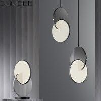 נירוסטה נברשת אורות מעצב נורדי יוקרה מסעדה לתלות מנורה שליד המיטה מרוכבים נברשת תאורת תפאורה בית