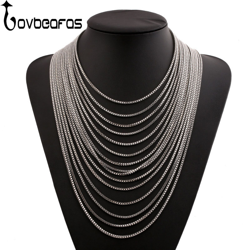 цена на LOVBEAFAS Fashion Maxi Statement Necklace Collares Choker Collier Necklace Multilayer Chain Fine Jewelry