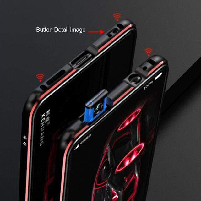 Xiaomi Redmi K20 Pro Metal Frame Luxury Glossy Aluminum Bumper Case Cover