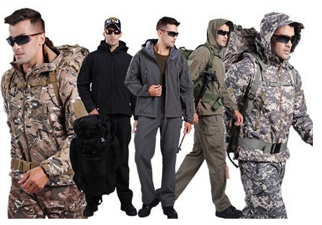 9 colors Waterproof Camouflage TAD V4.0 Shark Skin Military Set Multicam Tactical Softshell Jacket Pants Hiking Outdoor Camping lurker shark skin soft shell v4 military tactical jacket men waterproof windproof warm coat camouflage hooded camo army clothing