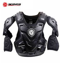 SCOYCO CE Motorcycle Armor Motocross Chest Back Protector Armour Vest Motorcycle Jacket Racing Protective Body Guard MX Armor scoyco am05 racing motorcycle body armor protector black size m