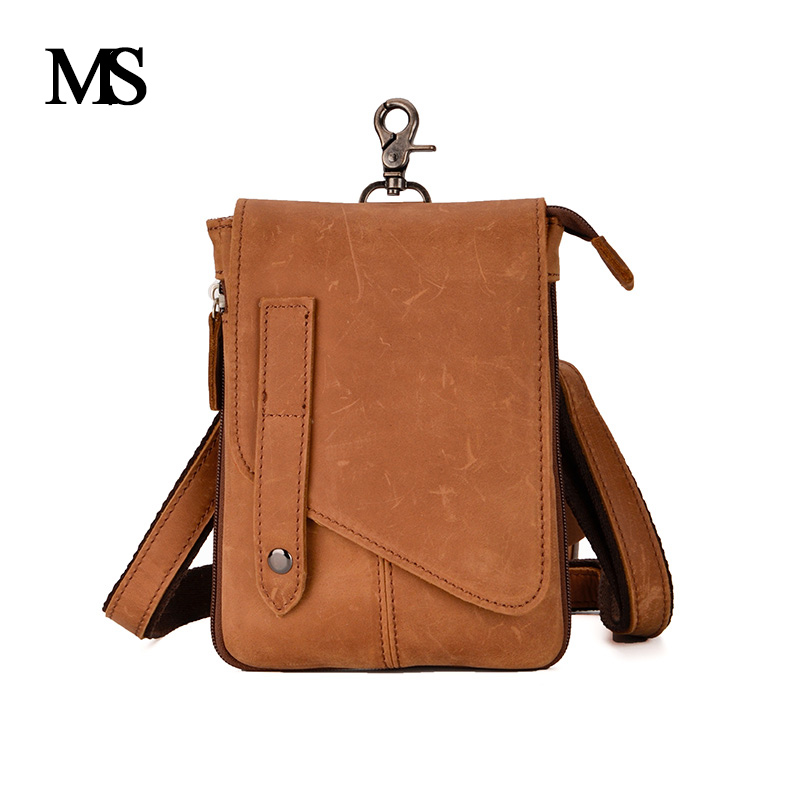 MS Crazy Horse Genuine Leather Men Bag Men's Leather Bag Men Messenger Bags Shoulder Crossbody Bags Man Handbag TW2017 ms crazy horse genuine leather men bag men s leather bag men messenger bags shoulder crossbody bags man handbag briefcase tw2011
