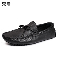 Genuine Leather casual shoes men lazy driving genuine leather loafers Business Men ShoesMen Dress Shoes cowhide spring