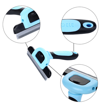 Detachable Hair Slicker Deshedding Comb 1